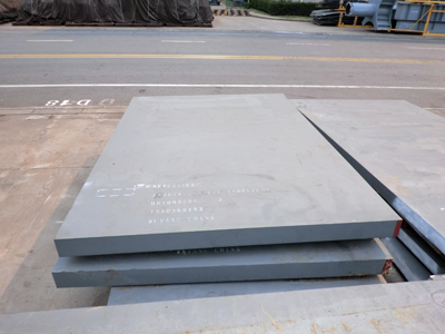 ASTM A36 steel plate stock in China